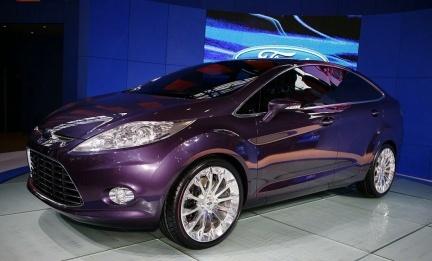Ford Verve Concept cuatro puertas, la antesala del Ford Fiesta sedán