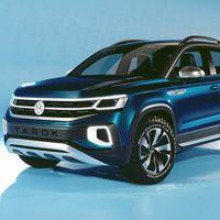 Esta Volkswagen Tarok Concept es la hermana pequeña y urbanita del Amarok, casi lista para Brasil