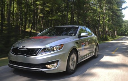 KIA-Optima-Hybrid-Record