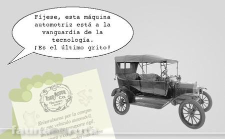 fauna en ruta - vehículos antiguos