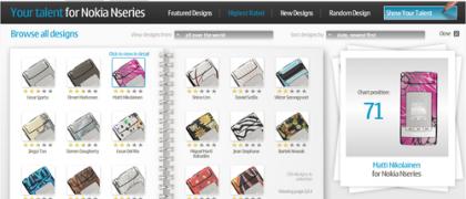 Los diseños del Nokia N76 ya online