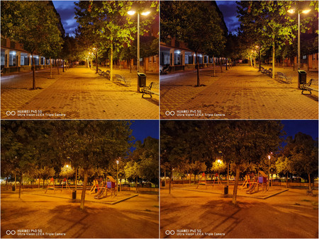 Modo Noche Sensor Principal