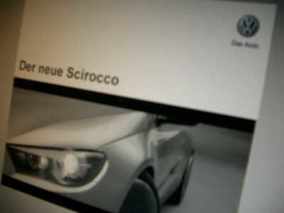 Filtrado el catálogo del Volkswagen Scirocco... pero es un montaje