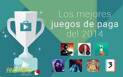 Los mejores juegos de paga del 2014 en Android
