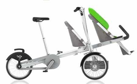 Taga: bici multifuncional para padres e hijos