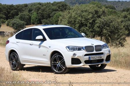 BMW X4, toma de contacto