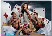 Eva Mendes para el Calendario Campari 2008