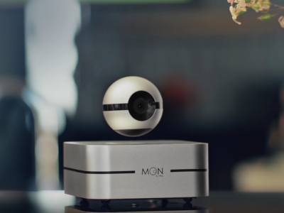 Esta cámara de vigilancia flota sobre el aire y te permite controlar lo que ocurre en tu hogar