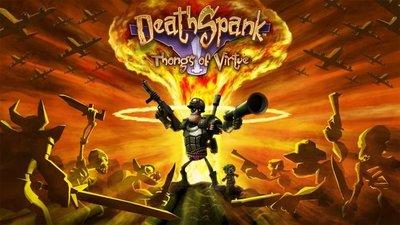 El principal problema de 'DeathSpank: Thongs of Virtue'
