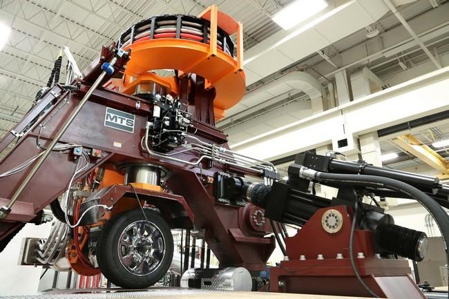 maquina para la investigación y desarrollo de neumáticos