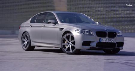 Y este es el BMW más potente de la historia derrapando