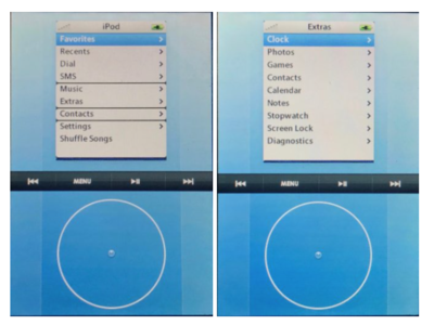 Aparece un vídeo del prototipo original del iPhone, y venía con la Click Wheel del iPod