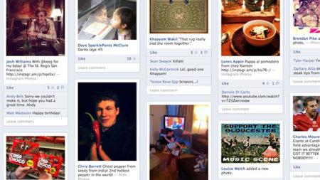 Friendsheet, la aplicación que permite mostrar Facebook como si fuera Pinterest