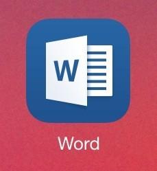 microsoft office ipad word