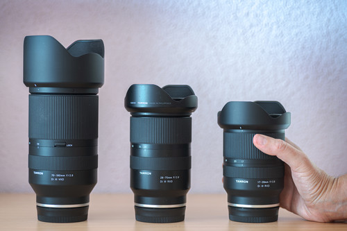 Cuestan la mitad, pero, ¿ofrecen la misma calidad? Probamos los tres objetivos zoom f2,8 de Tamron para Sony