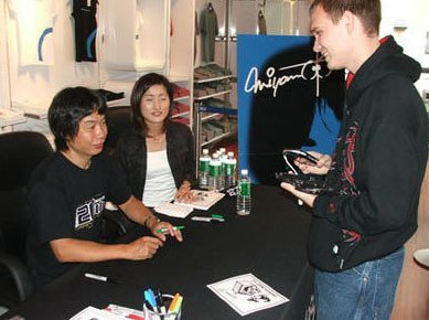 Miyamoto y la firma de consolas