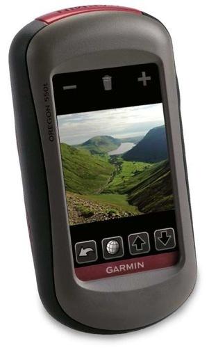 Garmin Oregon 550 y 550t, ideales para actividades en la montaña