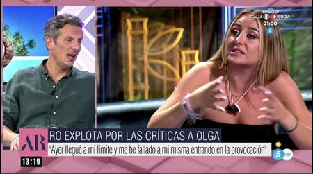Joaquín Prat aconseja a Rocío Flores que se amolde a las normas de la tele