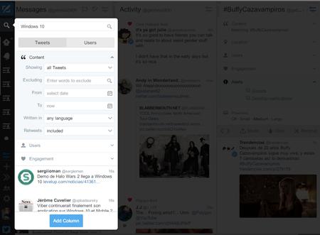 Monitorizar Tema En Twitter