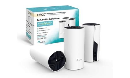 Mejorar tu red WiFi hoy te sale más barato con el kit en malla TP-Link Deco P9 con 3 nodos: Amazon te lo deja por 196,99 euros en oferta flash