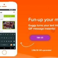 Guggy convierte tus frases en GIFs animados para expresarte mejor