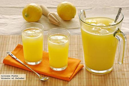 Limonada De Pina Con Un Toque De Jengibre Recetas Y Bebidas Para Combatir El Calor