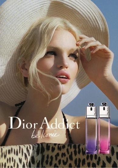 Primera imagen de la campaña publicitaria de Dior Addict Be Iconic
