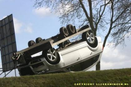 Audi Q7 volcado