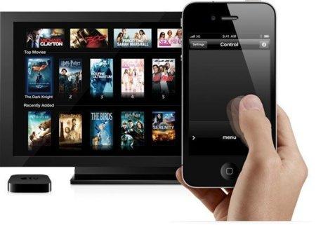 Apple TV control iphone