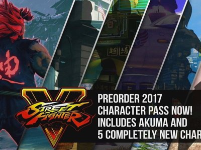 Akuma aparece de manera oficial en Street Fighter V y llegará en un par de semanas