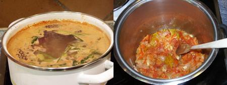 sopa de marisco elaboración 1