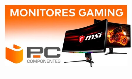 Gaming Days en PcComponentes: los mejores descuentos en monitores Acer, Lenovo, LG, MSI o Newskill
