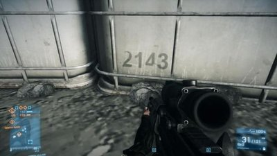 Easter egg en el 'Battlefield 3' sobre un posible 'Battlefield 2143'