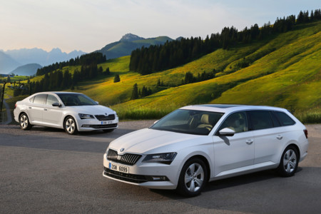 Skoda Superb Greenline 1