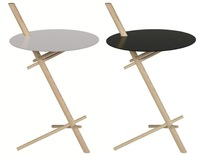 Con cinco palitos bien colocados, se consigue una mesa muy práctica
