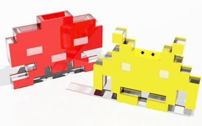 Space Invaders, sal y pimienta