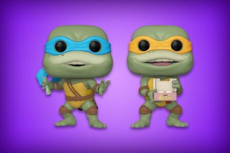 Las nuevas figuras Funko POP de 'Las Tortugas Ninja' ya se pueden reservar en Amazon México: envío gratis con Amazon Prime