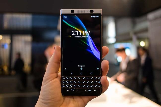 Malas noticias, la BlackBerry KEYone se retrasa como mínimo hasta mayo