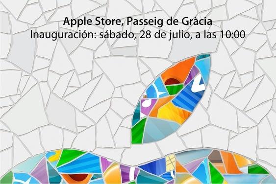 apple store paseo de gracia barcelona inauguracion