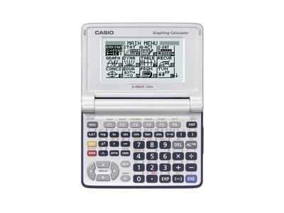 Casio FX-9860G, calculadora en formato clamshell