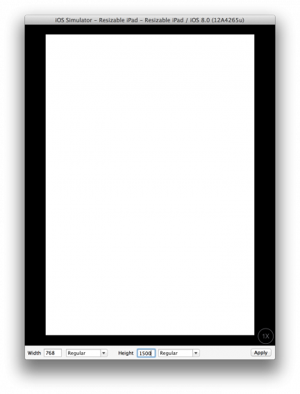 ¿Pantallas redimensionables? XCode deja más claro el futuro de las resoluciones de iOS