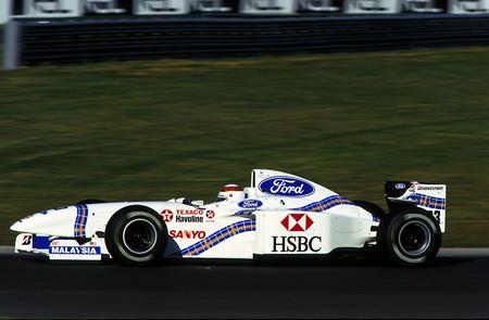 Jackie Stewart Silverstone F1 1997