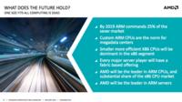 Los primeros servidores ARM de AMD llegarán a finales de año