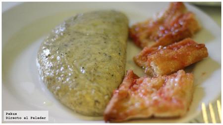 tortilla de trufa y queso