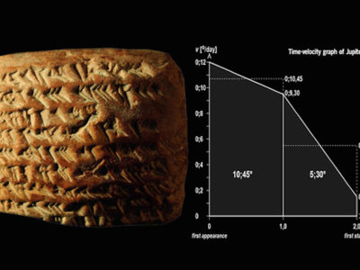 Se descubre que los antiguos babilonios ya rastreaban los planetas gracias a la geometría