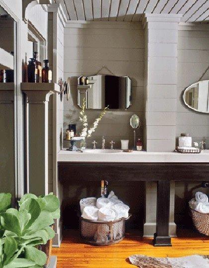Ideas para decorar el baño en gris