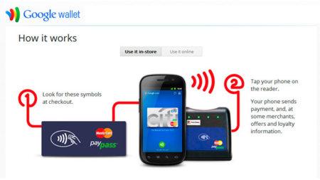 Google Wallet se escuda detrás del sentido común
