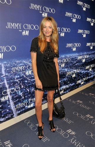 Fiesta de HM y Jimmy Choo en Los Ángeles: look de Cat Deeley