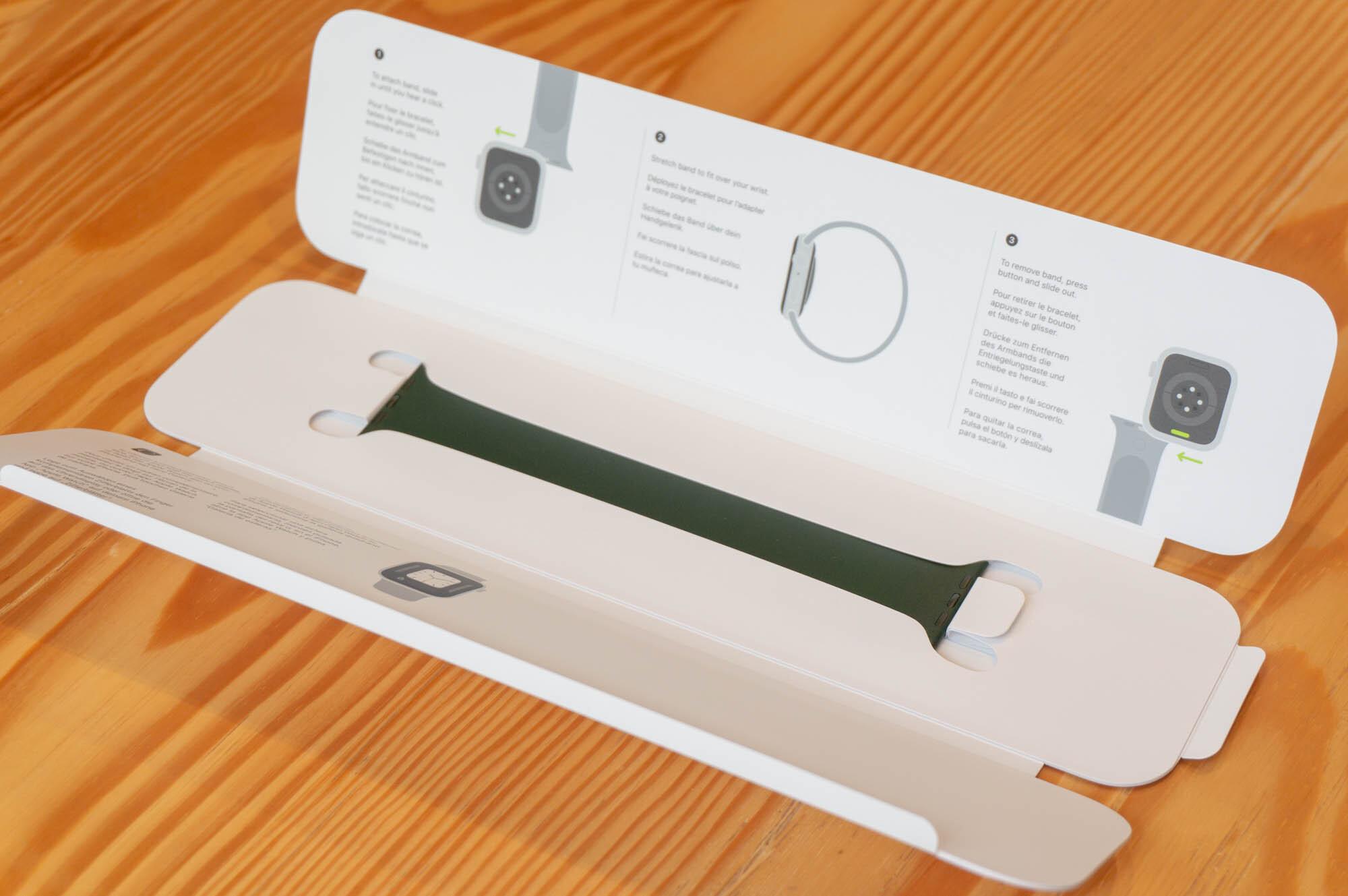 Foto de Apple Watch SE y Solo Loop (8/21)