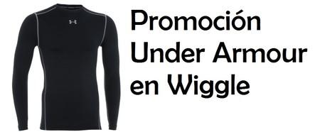 Grandes descuentos de hasta el 60% en productos Under Armour en Wiggle